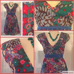 ♦️SALE♦️Derek Heart Secret Garden Dress Med boho